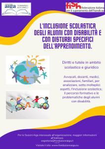 inclusione scolastica degli alunni con disabilità